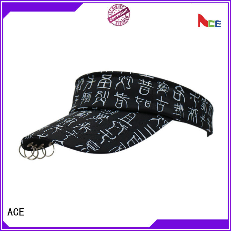 ACE latest wide brim sun visor hats get quote for beauty