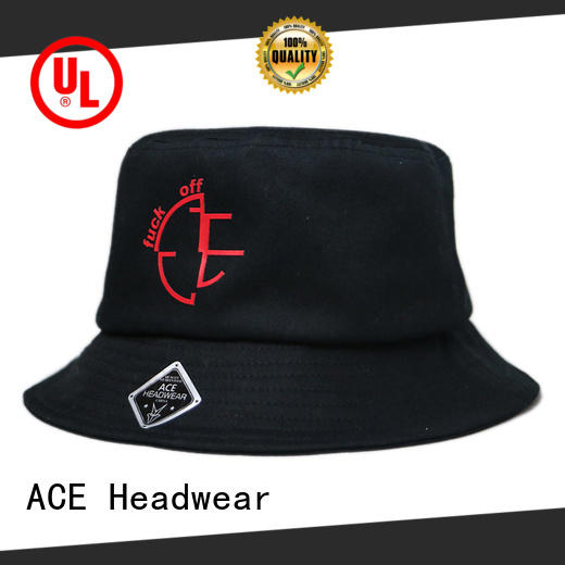 ACE cotton bucket hats for men bulk production for fashion