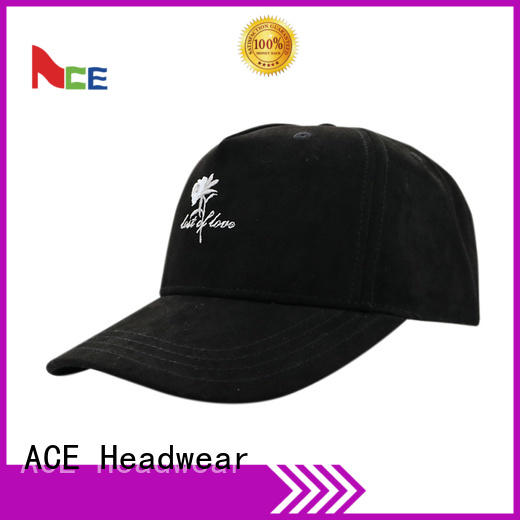 ACE patch fitted baseball caps ODM for beauty