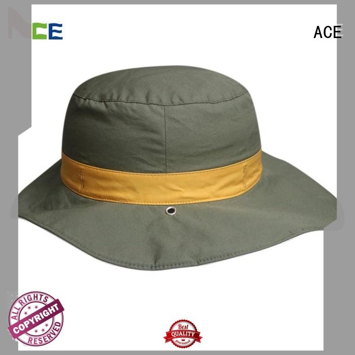 ACE stock trendy bucket hats ODM for fashion