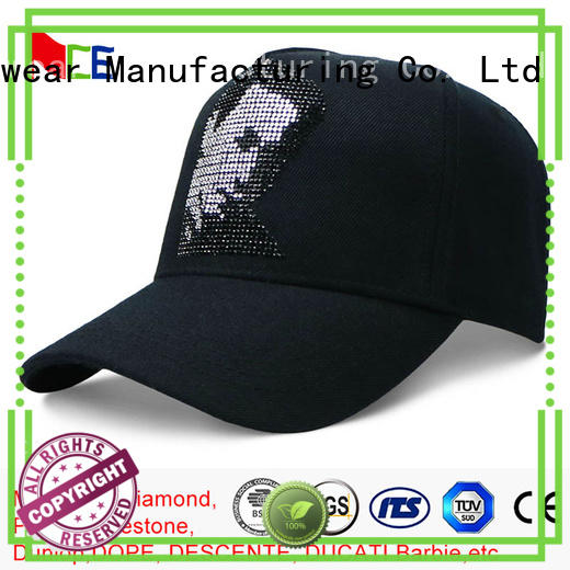 latest sequin baseball cap flower free sample for baseball fans
