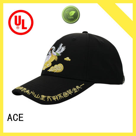 ACE printing fashion baseball caps buy now for baseball fans