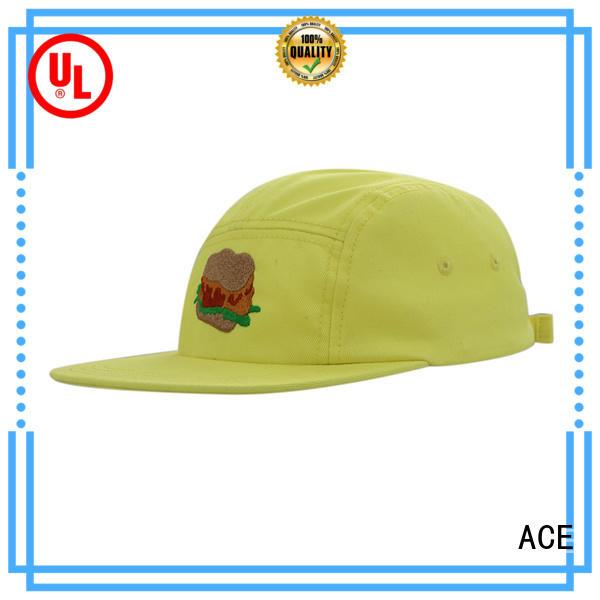 ACE panel bulk snapback hats free sample for beauty