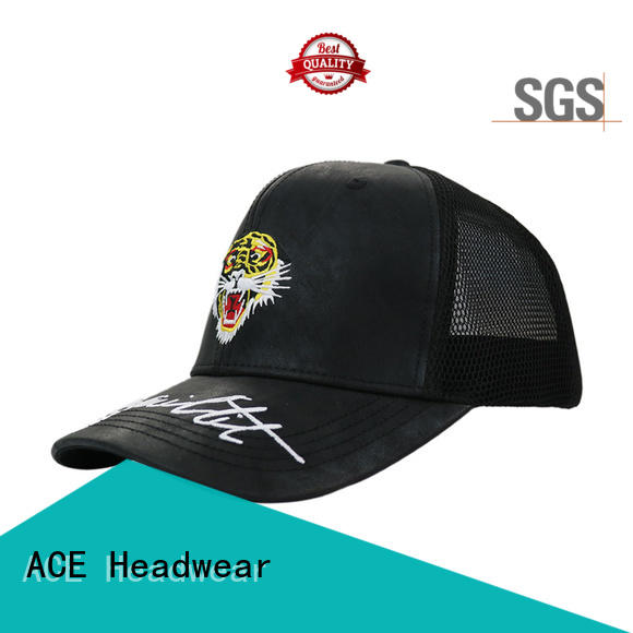 ACE funky mens trucker caps customization for fashion