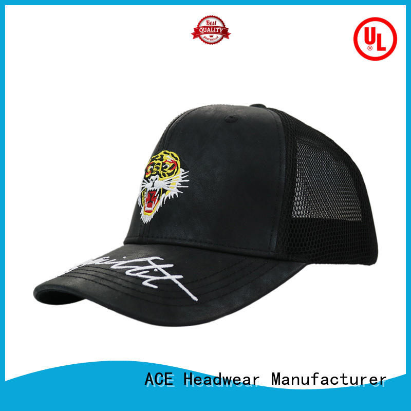 green trucker cap flat for beauty ACE
