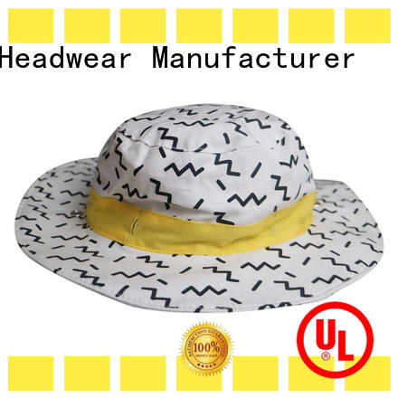 Breathable red bucket hat made for wholesale for beauty