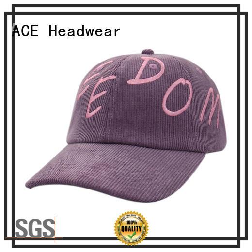 ACE peak best mens baseball caps supplier for beauty