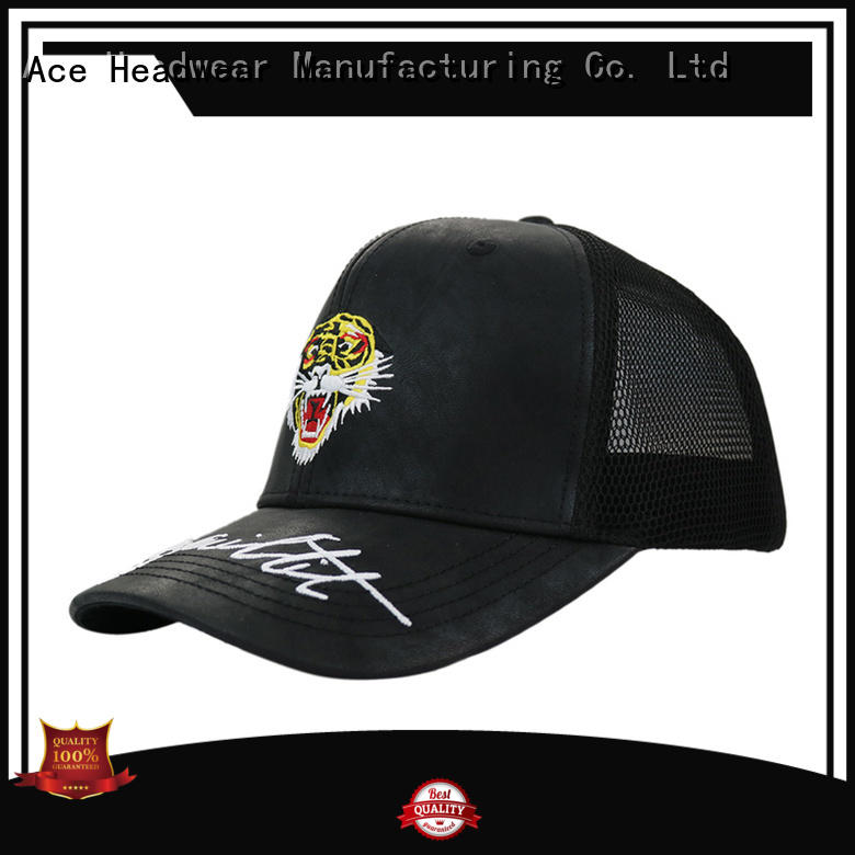 ACE solid mesh cycling cap OEM for beauty