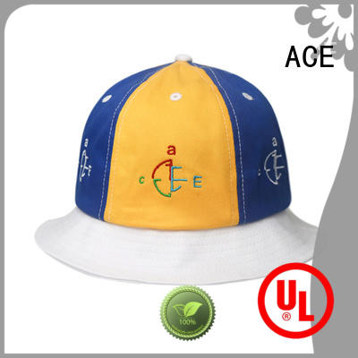 short black bucket hat supplier for beauty ACE