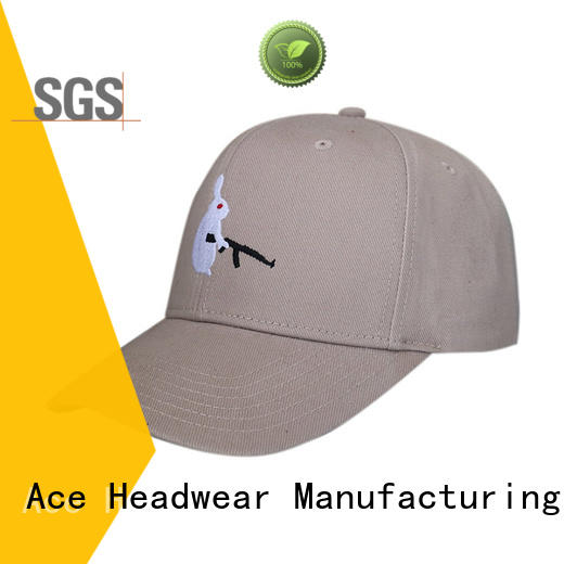 ACE solid mesh custom baseball caps buy now for fashion
