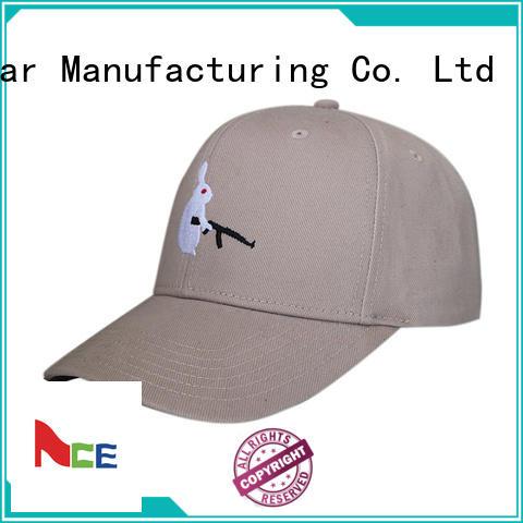 ACE latest plain baseball caps panel for fashion