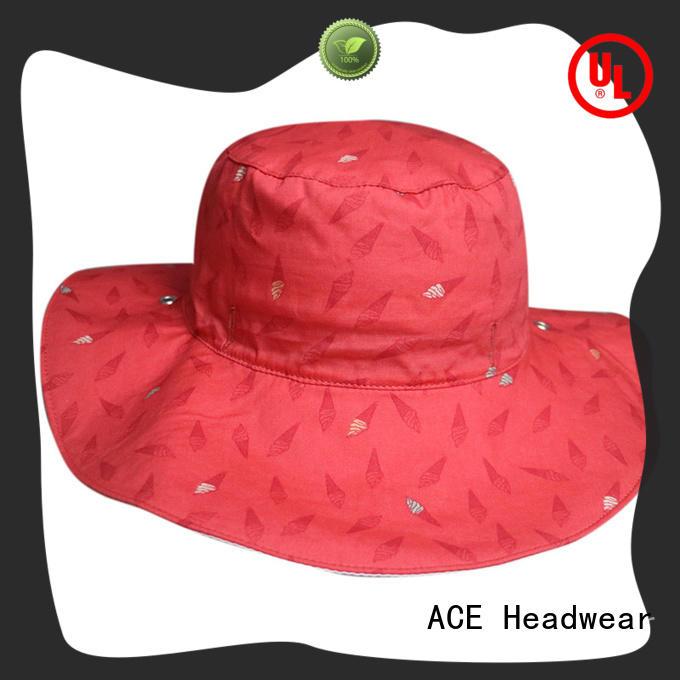 ACE funky cool bucket hats OEM for beauty