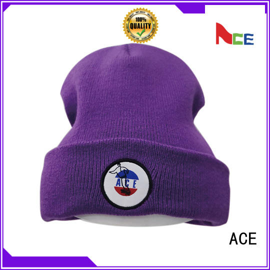 ACE adults womens knit beanie supplier for beauty