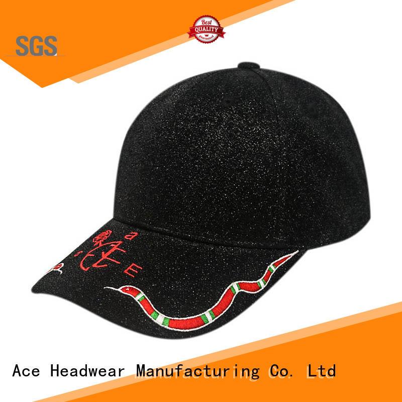 ACE Breathable best baseball caps free sample for baseball fans