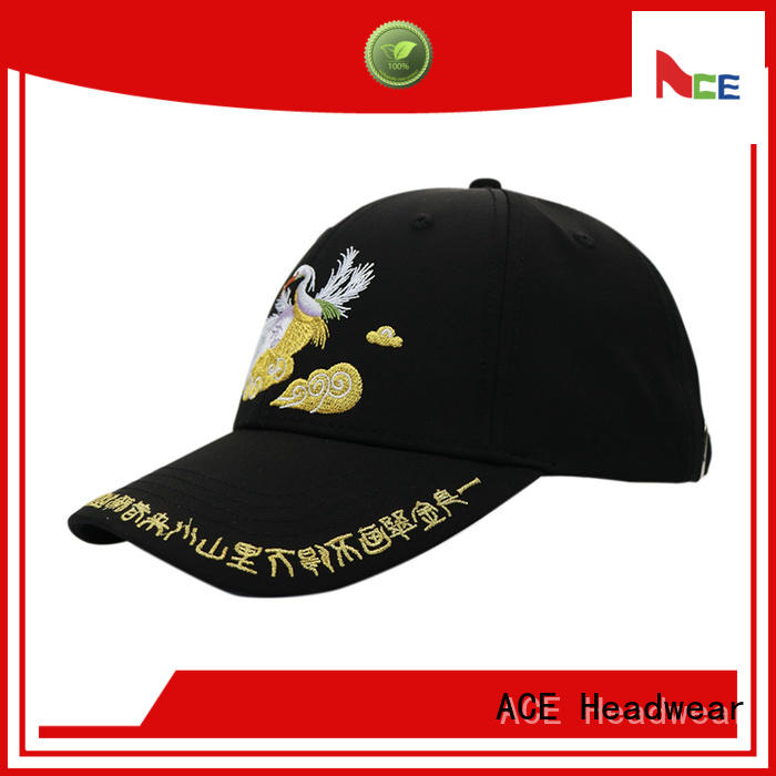 ACE high-quality personalized baseball caps OEM for beauty
