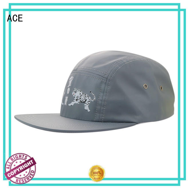 ACE portable mesh snapback hats get quote for fashion