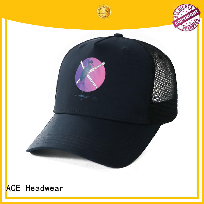 ACE mesh cycling cap for wholesale for beauty