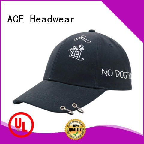 ACE adult embroidered baseball caps ODM for fashion