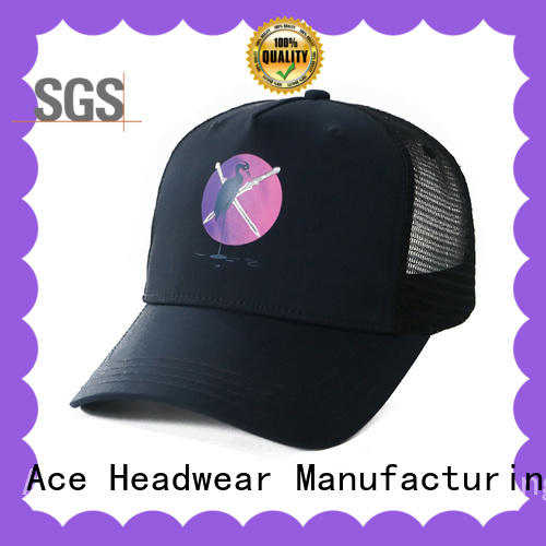 ACE panel bicycle cap free sample for beauty