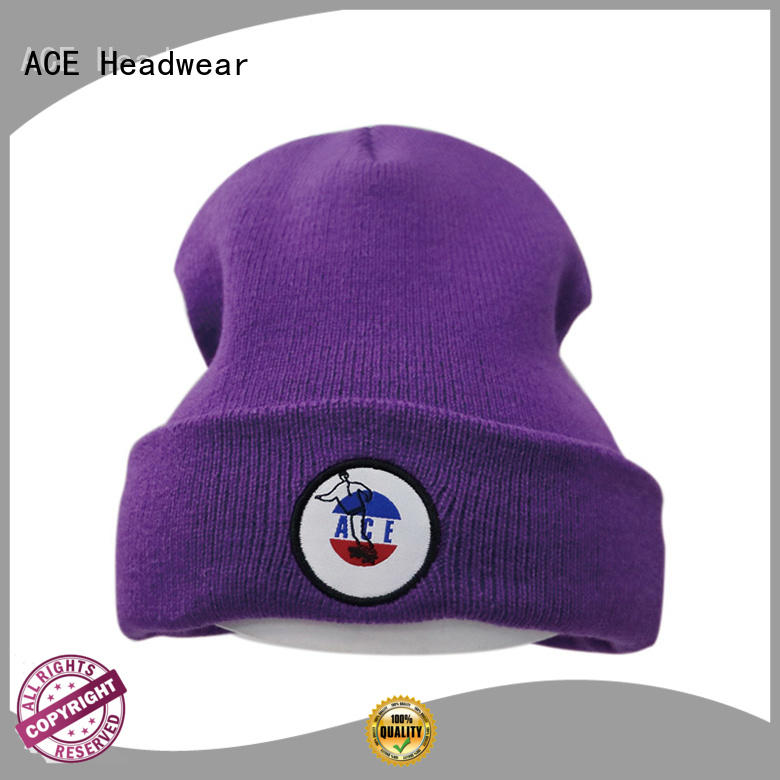 at discount loose knit beanie patch buy now for beauty