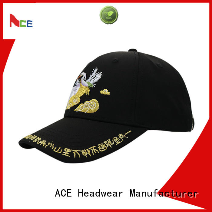 ACE Breathable baseball caps for men free sample for beauty