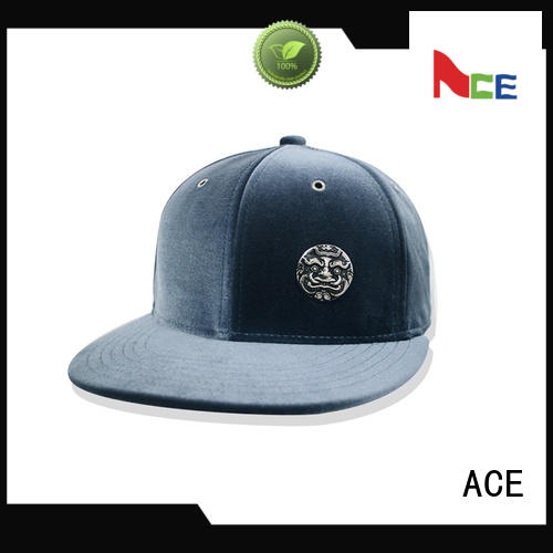 ACE on-sale personalised snapback caps ODM for fashion