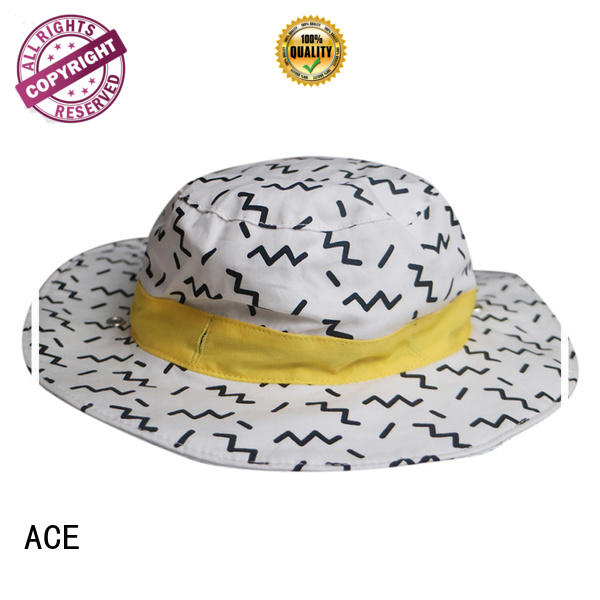 ACE on blue bucket hat free sample for beauty