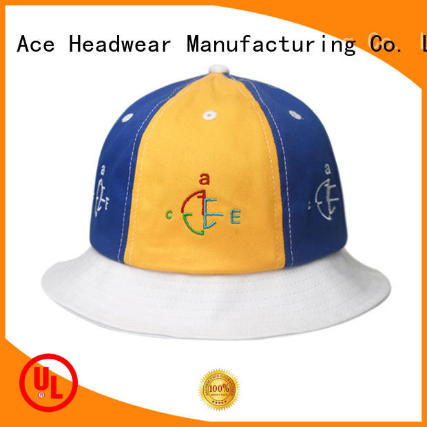 ACE durable colorful bucket hats stock for beauty