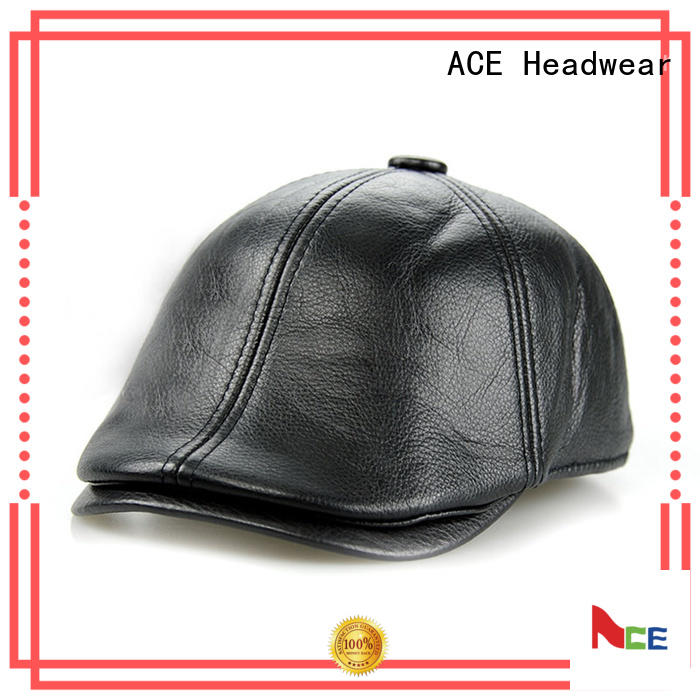 maroon leather beret hat get quote for fashion ACE