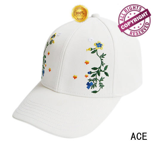 ACE on-sale baseball caps for men free sample for fashion