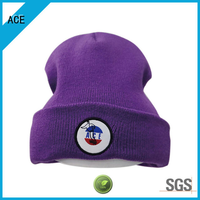 ACE at discount loose knit beanie ODM for fashion