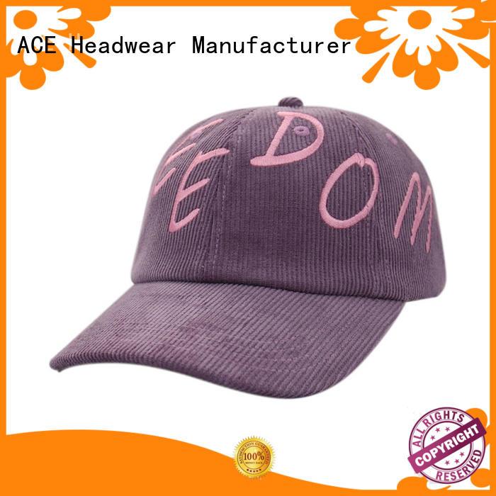 ACE on-sale kids baseball caps bulk production for beauty
