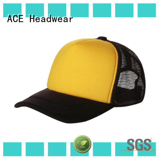 ACE words wholesale trucker hats supplier for fashion