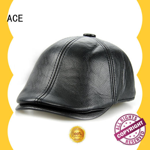 ACE durable ladies beret hats free sample for fashion