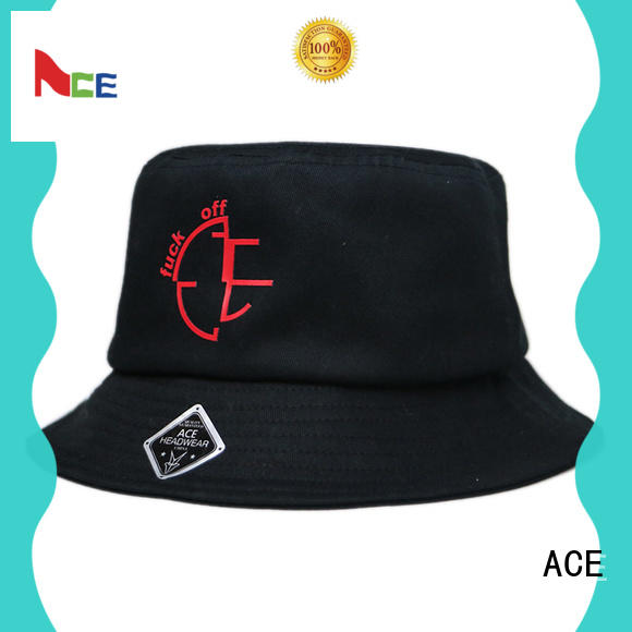 ACE ace bucket hat with string customization for beauty