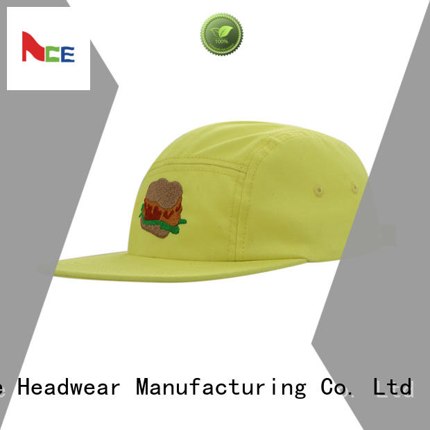ACE Breathable red snapback hat free sample for beauty