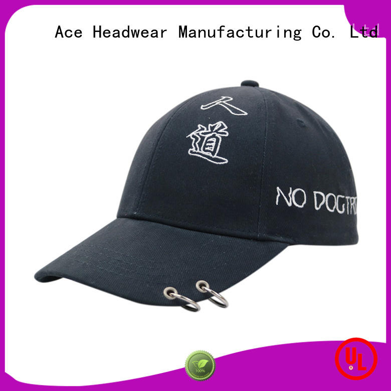 cap green baseball cap free sample for beauty ACE