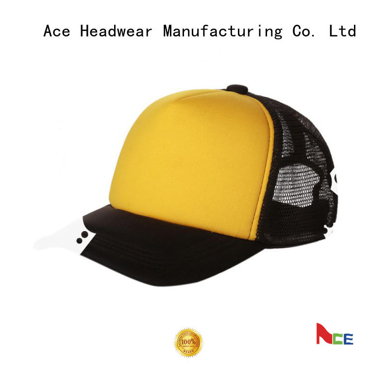 ACE funky printed trucker caps for wholesale for fashion