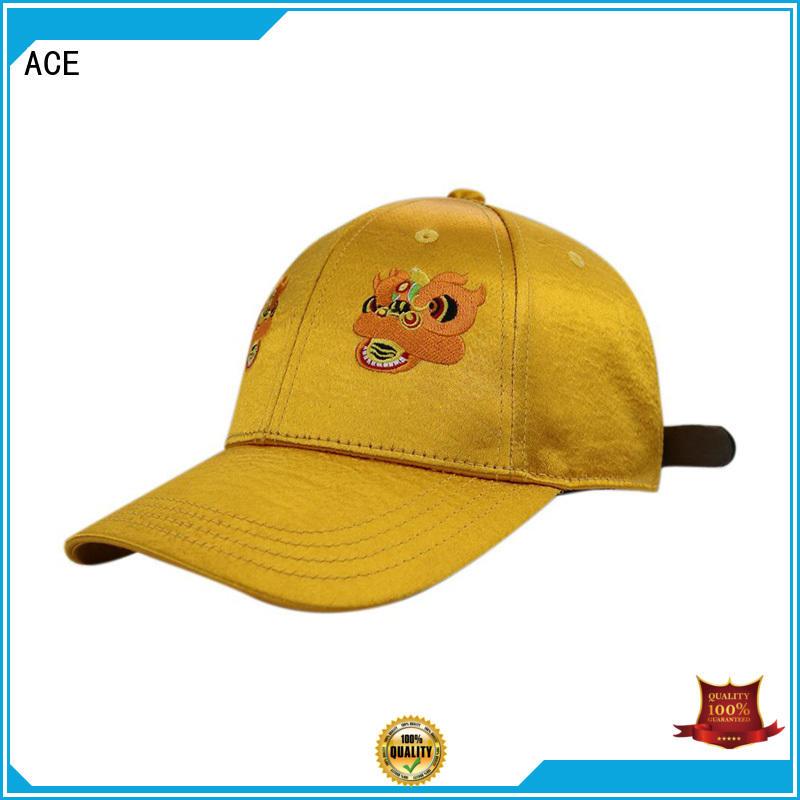 ACE latest men's fashion baseball caps plastic for beauty
