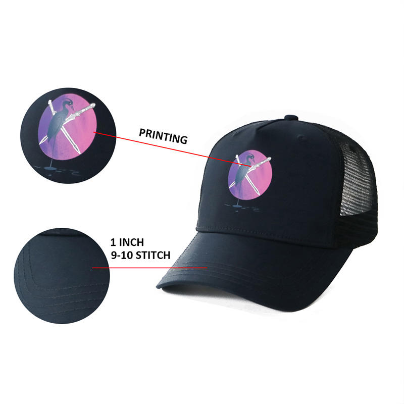high-quality trucker cap embroidery OEM for Trucker-2