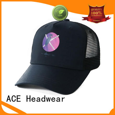 ACE on-sale cool trucker caps free sample for fashion