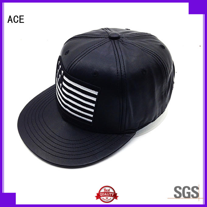 ACE cotton cool snapback hats free sample for fashion