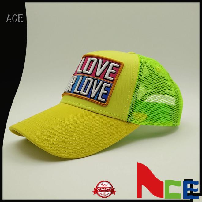 caps womens trucker cap OEM for beauty ACE
