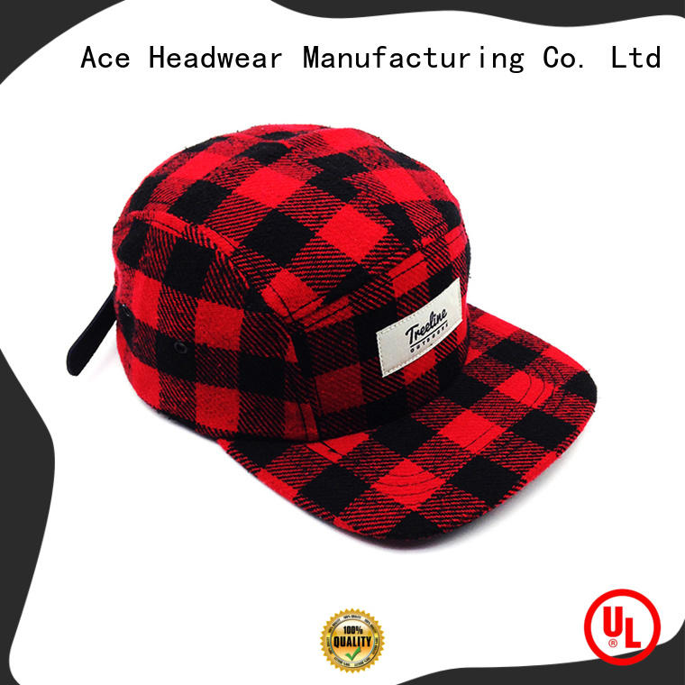 red large snapback hats black for fashion ACE