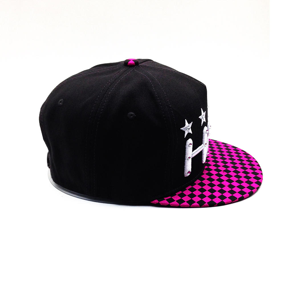 customized kinds of snapback hat with different logo for unisex