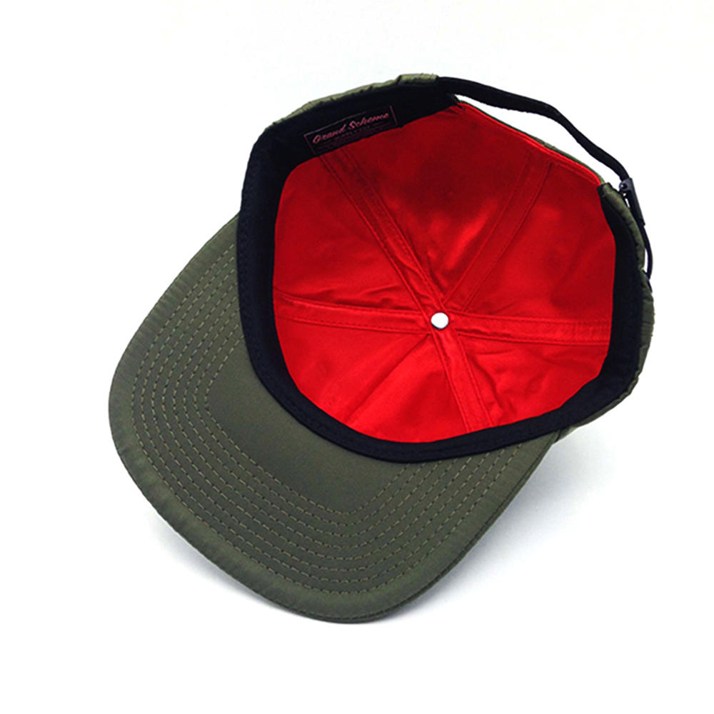 cool snapback hat dark green for man