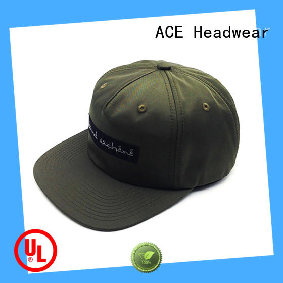 ACE high-quality personalized snapback hats buy now for beauty