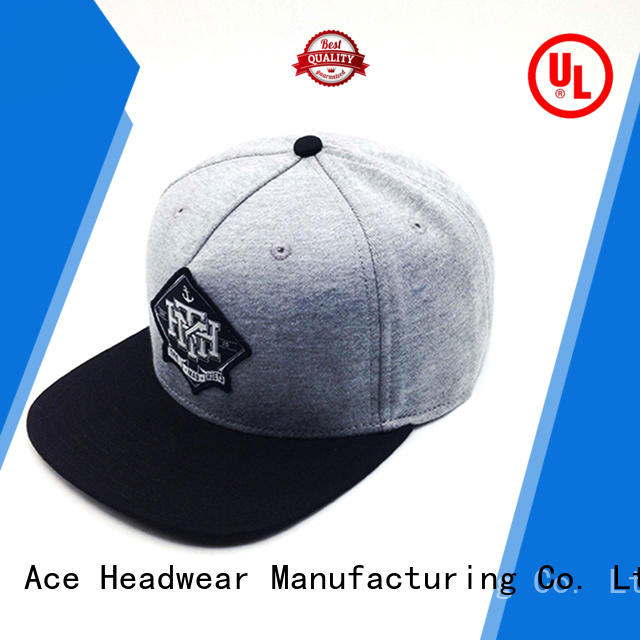 ACE durable snapback cap supplier for beauty