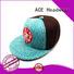 ACE cap purple snapback hat bulk production for beauty