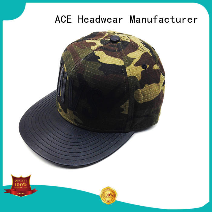 ACE wing custom snapback caps customization for beauty